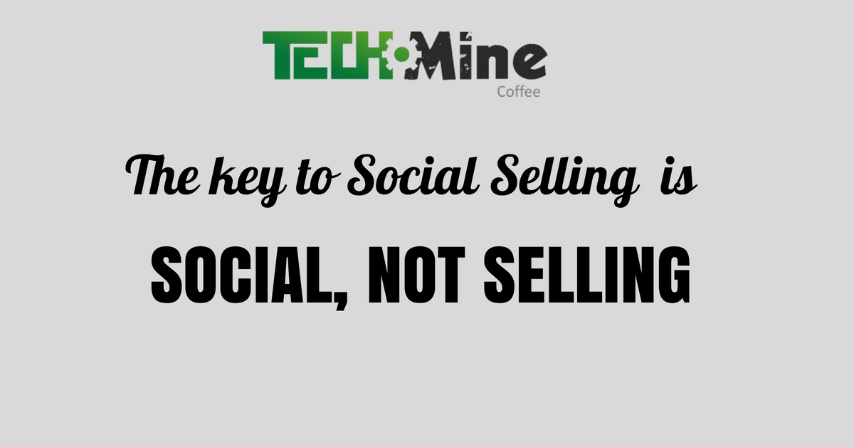 Social selling - relacja ze spotkania TechMine